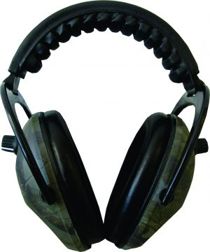 Ram ear defenders with electronic sound damping and enhancement. Great for use on shooting ranges, building sites and any noisy environments.