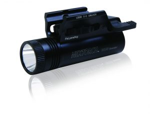 The Nextorch WL10 Gunlight is a torch that attached to your handgun via a picatinny rail. Works as a rifle light to.