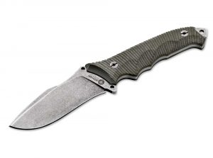 The Boker Buffalo Soul 42 is a brilliant fixed blade knife with a sheath