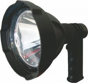 Gamepro Ninox rechargeable spot light. Great for security patrols, police and game drives and hunting.
