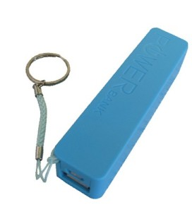 The SupaLED 2000mAh power bank in blue