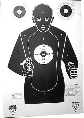 Ram Large shooting target