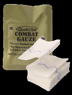 Quick Clot Combat Gauze
