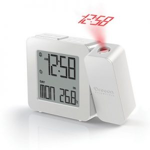 Proji projection clock