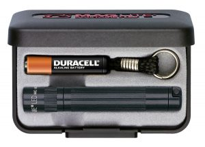 Maglite key ring torch black. Great for around the car and house. Sized to carry.