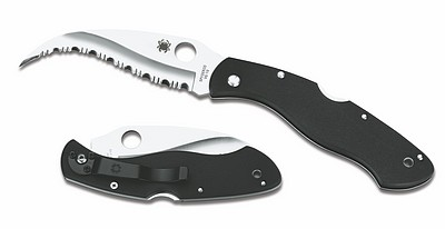 The Spyderco Civilian. A dedicated self defence knife. Made for everyday carry to get your self out of very hairy situations.