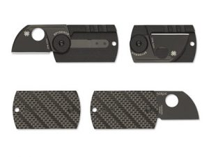 The SPyderco Dog Tag Folding knife. A brilliant concealed carry knife with Spyderco's quality.