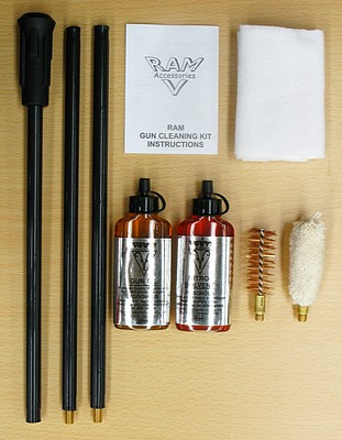 Ram 3 piece shotgun cleaning kit.