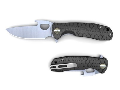 The Honey Badger is an excellent entry level self defense knife. Great design and awesome service. Black colour